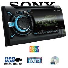 SONY XPLOD WX800UI IN-CAR STEREO CD USB MP3 MUSIC PLAYER WITH DISPLAY