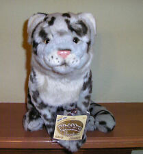 Webkinz Signature Snow Leopard With Sealed Code Tag  actual photos  Wild Cat