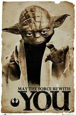 Star Wars : May the Force Be With You - Maxi Poster 61cm x 91.5cm (new & sealed)