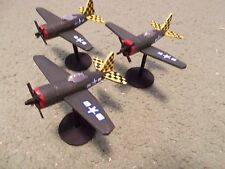 Flames of War 15mm, 1/144 Scale painted American P-47B Razorback Aircraft  (3)