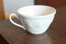 Wedgewood Festivity Coffee Tea Cup Mug Home Collection Embossed Rim