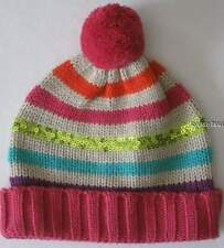 Gymboree Color Happy Sweater Hat 5 6 7 Winter Stripes Sequined New Girls Twins