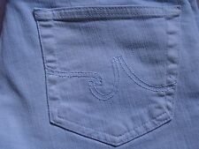 ADRIANO GOLDSCHMIED AG LEGGING WOMENS SUPER SKINNY FIT BABY BLUE JEANS SIZE 30