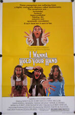 "I WANNA HOLD YOUR HAND ORIGINAL 1978 MOVIE POSTER 41"" X 27"" NANCY ALLEN"