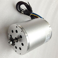 48V 1500W Central Drive High Speed Brushless DC Motor 5600RPM