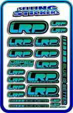 LRP ELECTRIC ESC MOTOR BATTERY LIPO STICKER DECALS RC CAR DRIFT R/C BLUE GREEN B