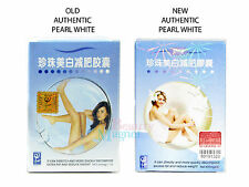 AUTHENTIC PEARL WHITE SLIMMING CAPSULES DIET FAT LOSS PILLS NEW PACKAGING