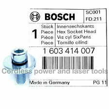 Bosch GKS 24V Circular Saw Blade Clamping Flange Bolt Screw Part 1 603 414 007