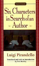 Six Characters in Search of an Author by Luigi Pirandello (1998, Paperback)