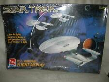 STAR TREK ENTERPRISE 3 MODEL FLIGHT DISPLAY PLASTIC MODEL KIT