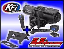 4500 lb KFI Stealth Winch Combo Synthetic Polaris Ranger 2013-2016 XP900 XP 900
