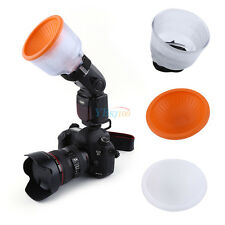 Universal Soft Image Clear Cloud Lambency Flash Diffuser with Dome Cover Set