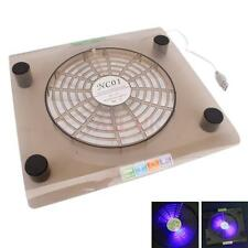 """14.1"""" to 15.4"""" Laptop LED Light Portable USB Quiet Fan Cooling Cooler Stand Pad"""