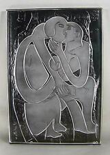 HAP Grieshaber 1909 / Das Paar / Glasskulptur / Rosenthal sign.mit Zertifikat