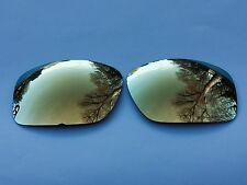 NEW ENGRAVED POLARIZED 24k GOLD MIRRORED REPLACEMENT OAKLEY SCALPEL LENSES