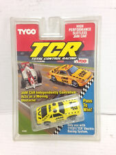 1991 TYCO TCR Race Track mustang taxi Slot less JAM car 6486