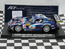 FLY CHRYSLER VIPER GTS-R   BARCELONA FIA GT2003  88113  #4  1:32 NEW OLD STOCK