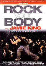 Rock Your Body (DVD, 2007) Jamie King fitness health workout client Madonna