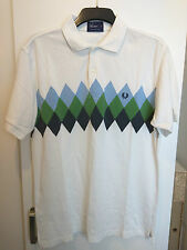 Mens Fred Perry Polo Shirt - Size Medium FREE P&P!