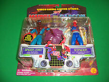 Marvel VS Capcom Clash of Super Heroes figure set. SpiderMan VS Staider