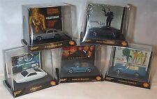 James Bond lot de 5 voitures miniature Shell promotion de nouvelles