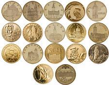 2 zlote 2006 SET - 17 coins Nordic Gold GN CuAl5Zn5Sn1 Poland Polen zl