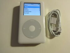 APPLE  IPOD  CLASSIC  4TH GEN. WHITE  60GB...NEW  BATTERY...