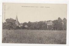 Les Environs de Pennes Bours Panorama France Vintage Postcard 291a