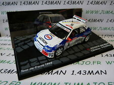 voiture 1/43 IXO Altaya Rallye  PEUGEOT 306 MAXI Tour de Corse 1998 Delecour #14