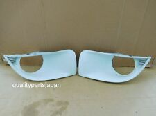 SUBARU IMPREZA GDB GD OPTION FRONT BUMPER FOG LIGHT COVERS JDM LAMP GG WHITE