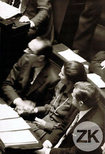 SIMONE VEIL IVG JACQUES CHIRAC Tribune Avortement ASSEMBLEE NATIONALE Photo 1974