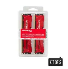 Kingston HyperX Savage 16GB (2 x 8GB) Memory Kit 1600MHz DDR3 Non-ECC CL10 (Red)