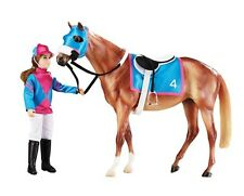 Breyer Traditional Let's Go Racing - Horse, Rider & Tack Horse Model Toy