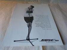 CAROLINE LOEB - Publicité de magazine / Advert BOSE 101 !!!!!!!