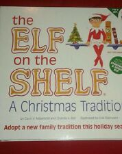 THE ELF ON THE SHELF BLUE EYES GIRL & BOOK A CHRISTMAS TRADITION