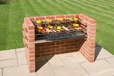 BLACK Knight Extra Large in mattoni kit BARBECUE 112 x 39 (5) Brick ampia copertura MATTONELLE 802