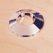 1 X  35MM CHROME PIPE PLASTIC COLLAR COVER SHROUD ROSETTE