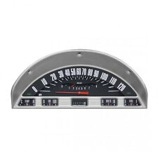 *Ford F-100 Pickup Truck Gauge / Gage Cluster Black Style 1956