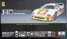 TAMIYA 1/24 Ferrari F40 Competizione 1993 Monte Shell w/ phote-eached parts kit
