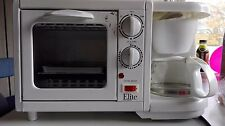Mini Toaster Oven-Elite Cuisine 3 in 1 Multi-Function Breakfast Maker Deluxe