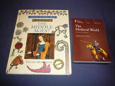 Teaching Co Great Courses  DVDs        THE MEDIEVAL  WORLD     newest + BONUS
