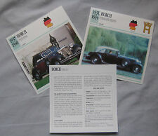 Horch Collectors Classic Car Cards