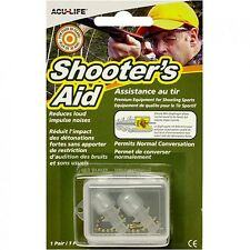 ACU-LIFE Shooter's Impact Noise Reducing Ear Plugs