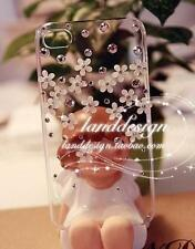 Crystal Flowers Transparent hard Case skin for Samsung Galaxy S7 Edge X-26