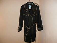Marciano Guess Trench Coat w/Leather Piping  M