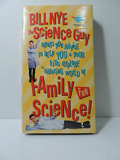 *RARE*BILL NYE SCIENCE GUY FAMILY FUN VHS Video Parental Advice Kids *NEW*