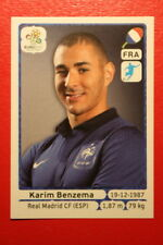 Panini EURO 2012 N. 480 FRANCE BENZEMA  NEW With BLACK BACK TOPMINT!!