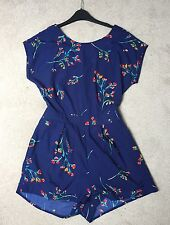 Navy Playsuit Size 12