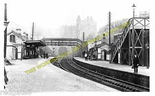 Mutley Railway Station Photo. Plymouth to Plympton and Yealmpton Lines. GWR