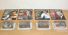 4x James Bond - Modellauto Collection in 1:43 mit Hefte